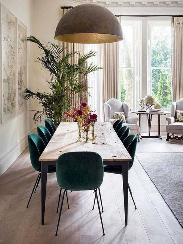 Lovely Romantic Dining Room Decor Ideas Scandinavian Dining Room Dining Room Design Green Dining Room