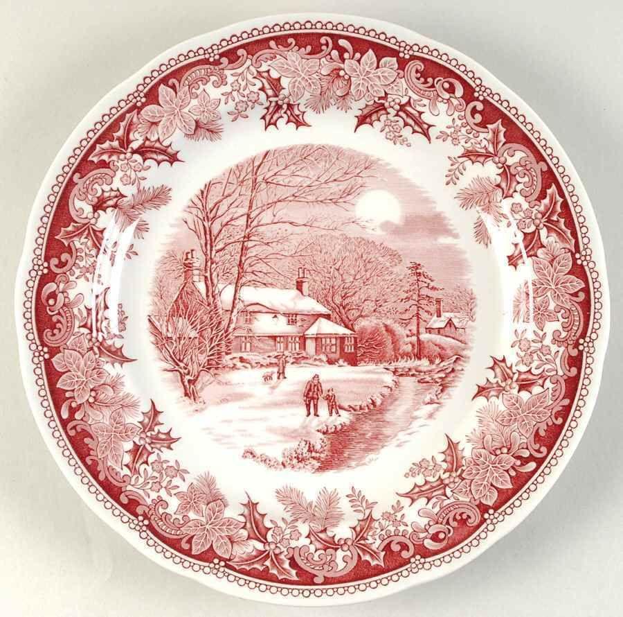 Spode Winter\u0027s Eve Red Dinner Plate 6118780 | eBay · Christmas DinnerwareChristmas ...  sc 1 st  Pinterest & Spode Winter\u0027s Eve Red Dinner Plate 6118780 | eBay | SORT 8 ...