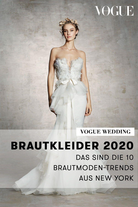 Brautkleider 11: Das sind die 11 Brautmoden-Trends aus New York