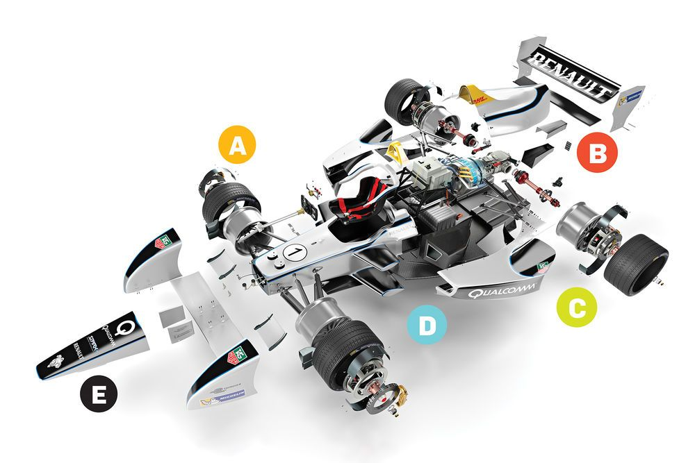 How It Works: The Electric Racecar | Popular Science | RACE POSTERS ...