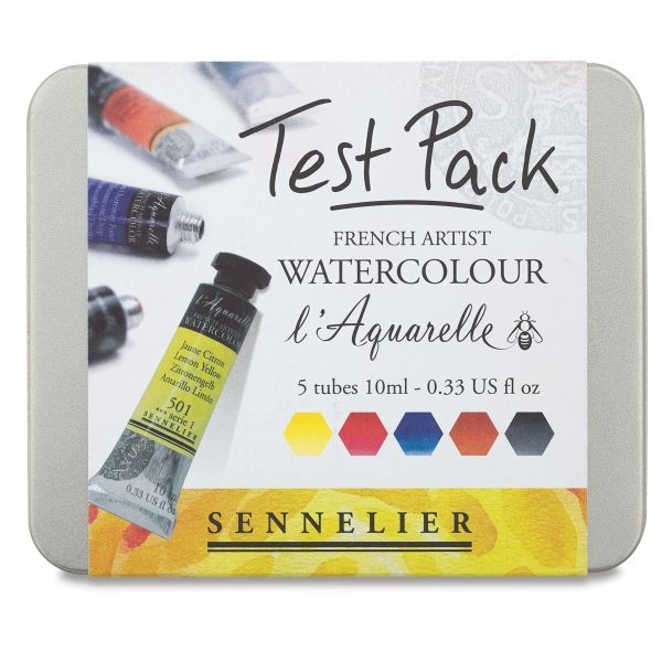 Sennelier French Artists Watercolor Sets Watercolor Kit French
