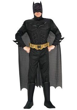 717c5ce4fe0ec Deluxe Adult Batman Costume DC Superhero Costumes