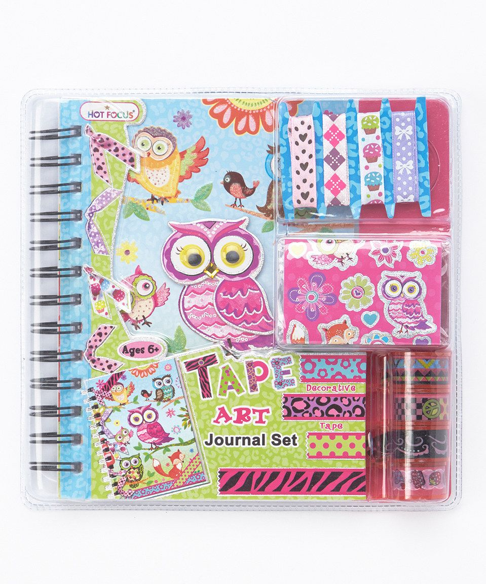 Another great find on zulily! Owl & Fox Taper Art Journal