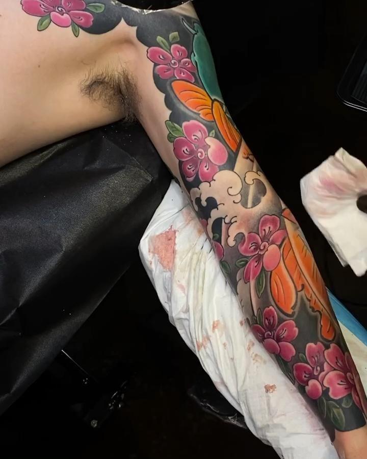 Photo of Japanese tattoo NYC