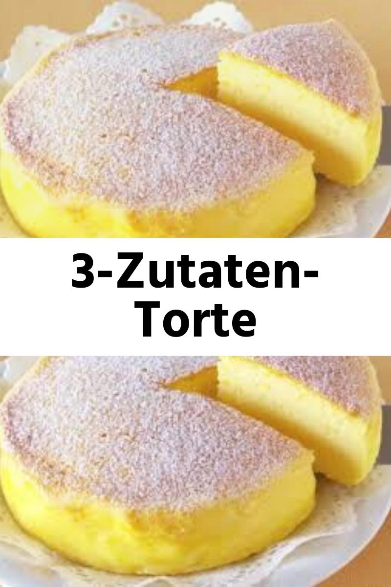 Das ist die 3-Zutaten-Torte, über die die Welt der