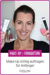 Photo of Applying make-up is easy, even for beginners. We show you in a …