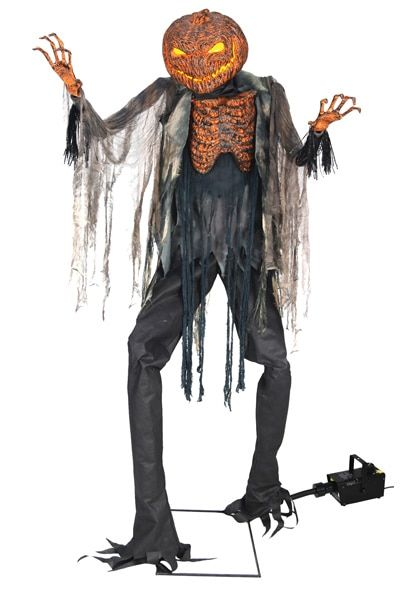 Animated Scorched Scarecrow With Fog Machine Halloween Pinterest