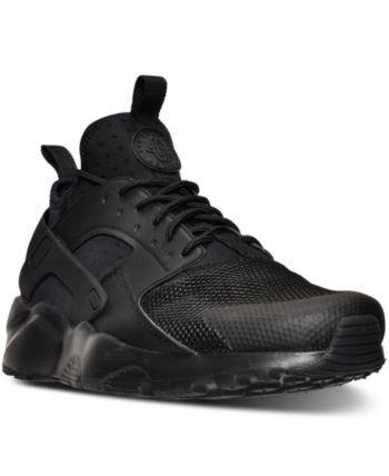 detailed look 407fb 53fd5 Nike Men s Air Huarache Run Ultra Running Sneakers from Finish Line - Black  10.5