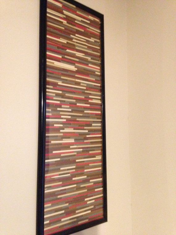 Popsicle Stick Wall Art Stick Wall Art Popsicle Crafts Popsicle Stick Houses