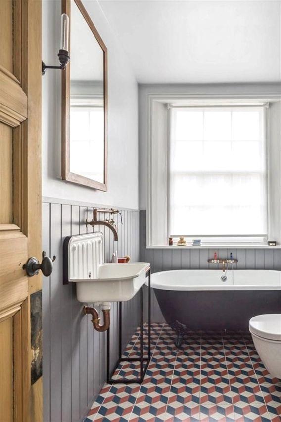 east london s most beautiful flat modern bathrooms modern rh pinterest com