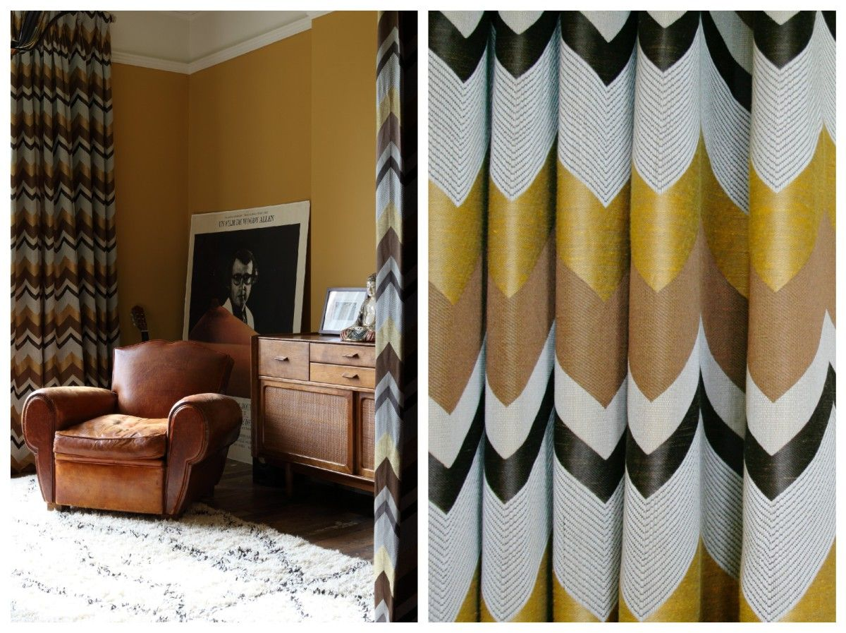 navy blue sofa with mustard curtains google search house rh pinterest com