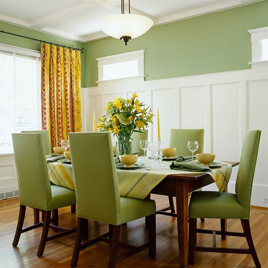 Decorate Your Walls with Molding  Arts And CraftsDinning Room IdeasYellow  Dining. Decorate Your Walls with Molding   Moldings  Batten and Wainscoting