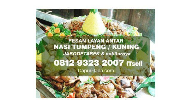 081293232007 Tsel Pesan Tumpeng Nasi Kuning Di Bekasi Resep Nasi