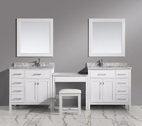 Photo Gallery For Photographers Bathroom Makeup Vanity Building A Makeup Station From Modular Parts