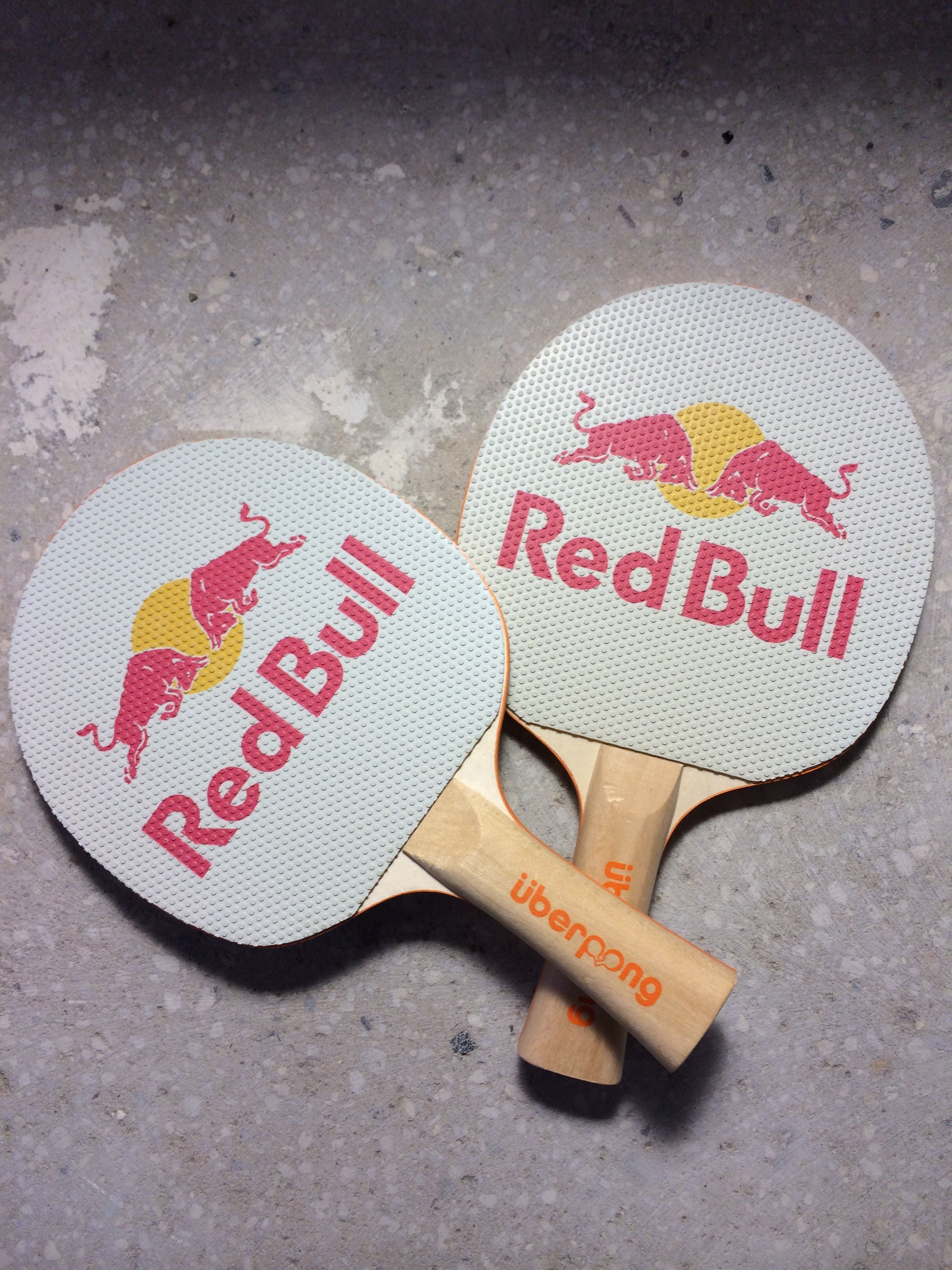 Red Bull Custom Ping Pong Paddles Uberpong Blog