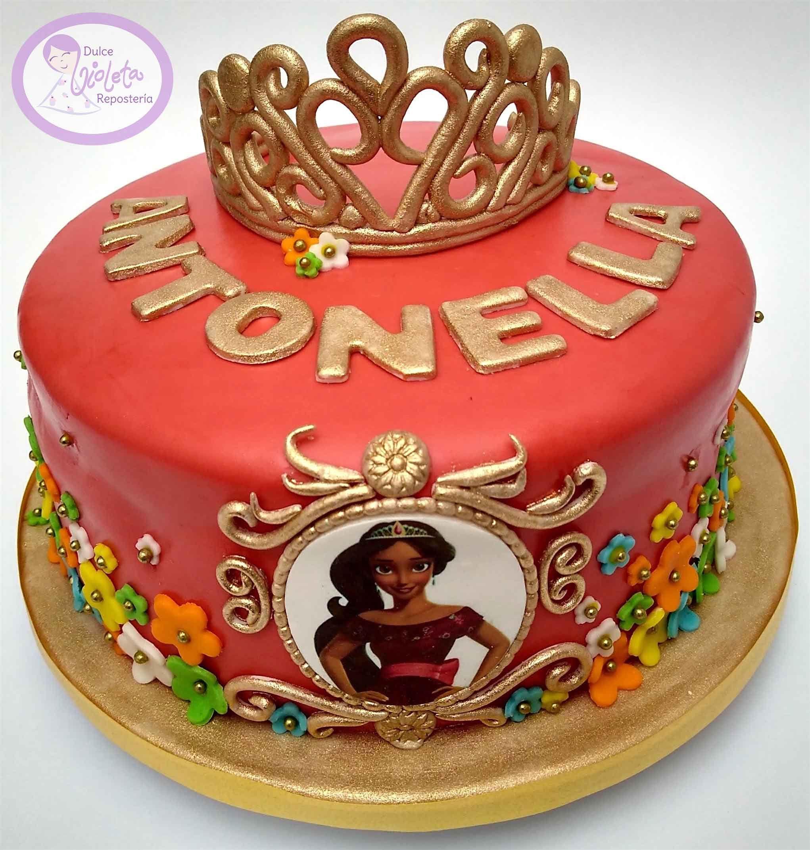 Princess Elena Of Avalor Themed Birthday Cake Com Imagens