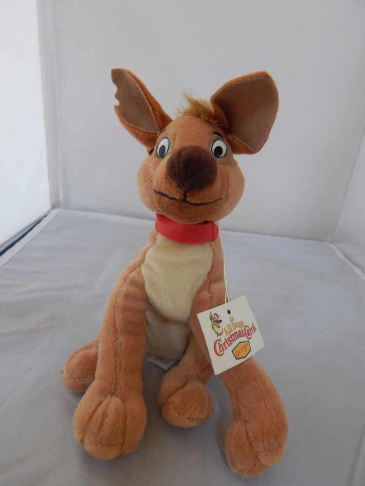 All Dogs Go To Heaven Charlie Plush Small 6 Inches Dennys