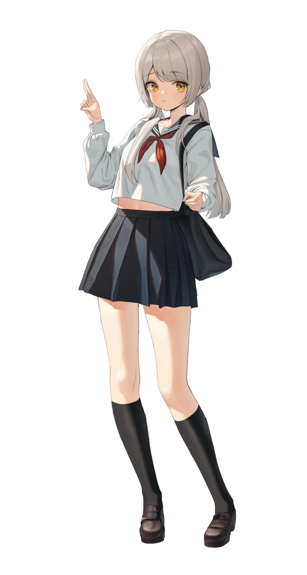 Xixeong On Twitter Anime School Girl Anime Character Design Manga Girl