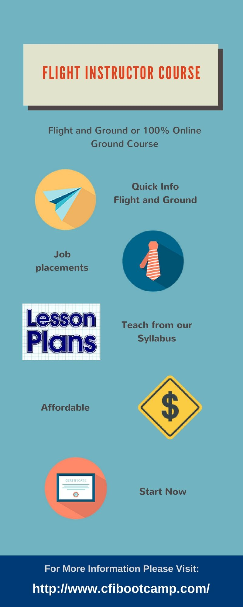 Finding for online flight instructor course than just make