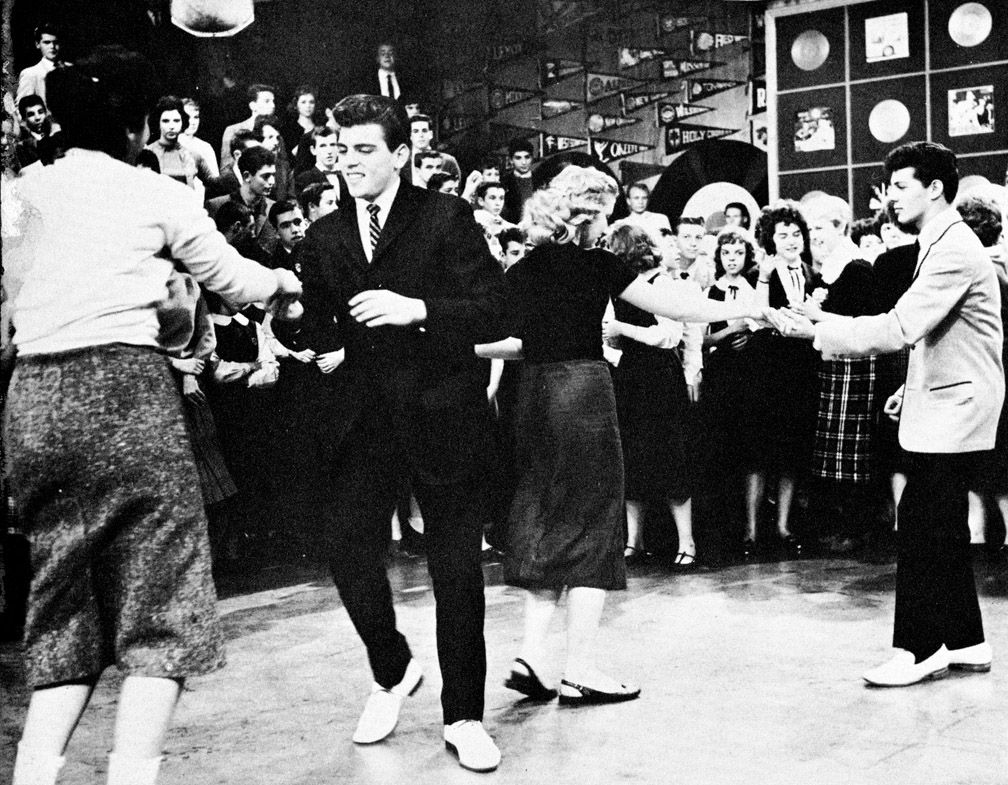 American Bandstand Show The Same Kids Came Most Days To -9971