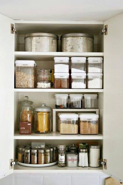 ideas para organizar la alacena apartment things kitchen rh pinterest com