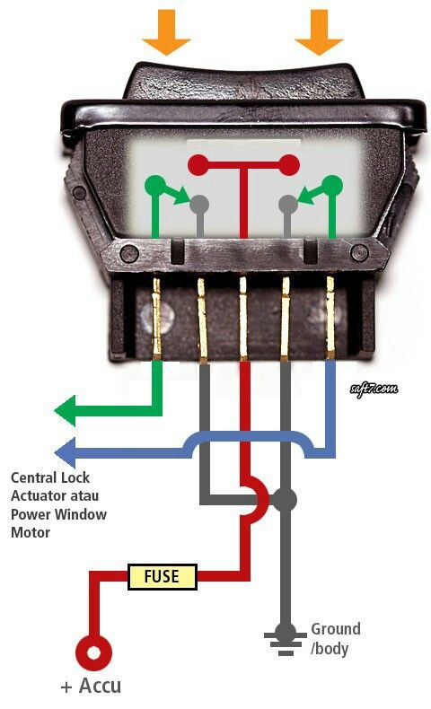 Power Window Electronics Projects Diy Electronics Projects Electrical Circuit Diagram