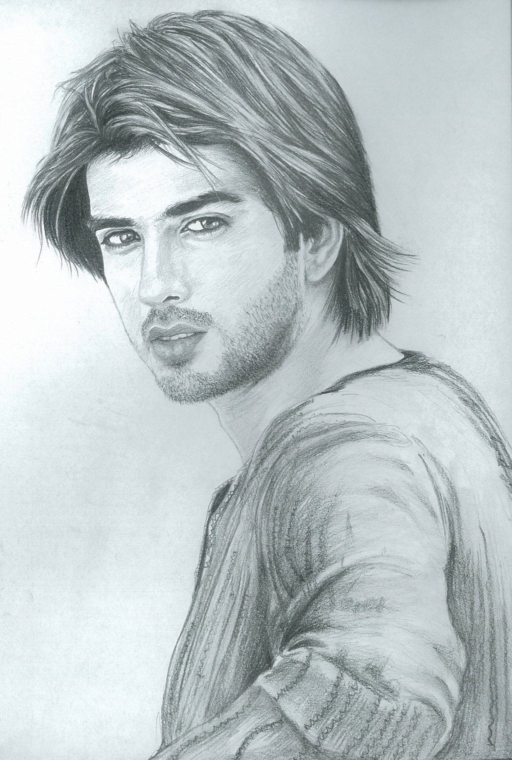 Best sketch of imran abbas cool sketches sketch art create a board kareena