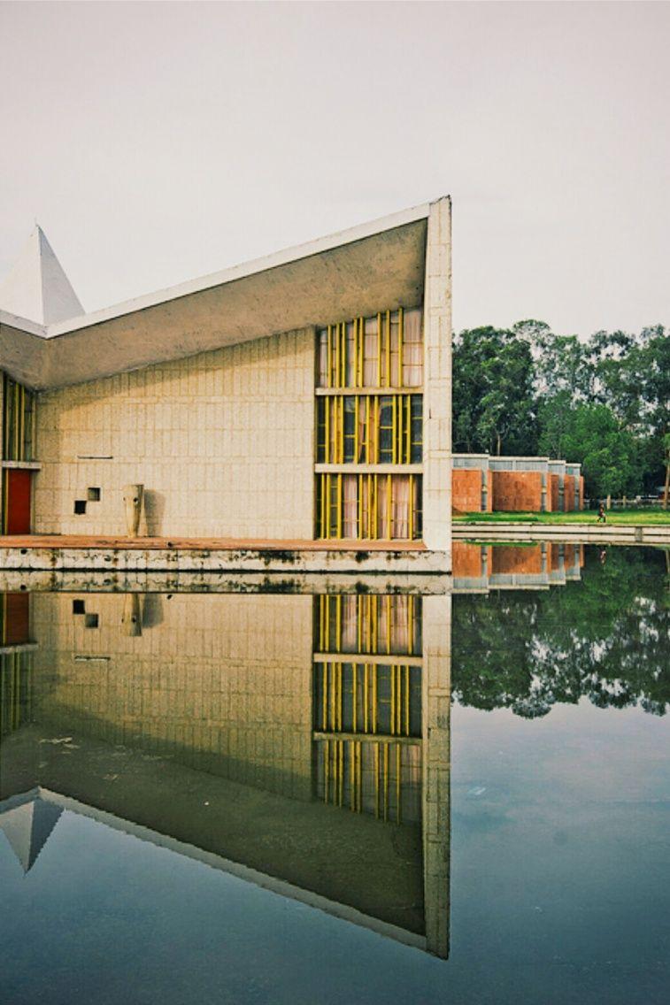 #chandigarh #gandhibhawan #architecture
