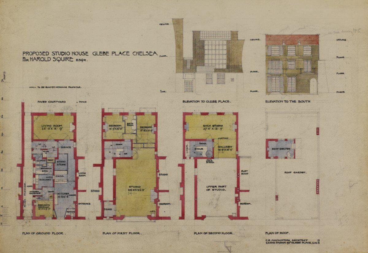 Mansions Floor Plans Art Gallery Castles Manor