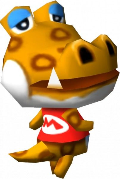Alfonso The Crocodile From Animal Crossing Animal Crossing Animal Crossing Qr Animal Crossing Villagers