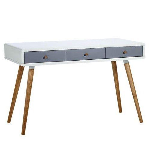 milan direct vasby desk console 3 drawer scandinavian home decor rh pinterest com