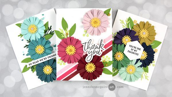 Video: Repeated Stamping + Blog Hop + Giveaways - Jennifer McGuire Ink