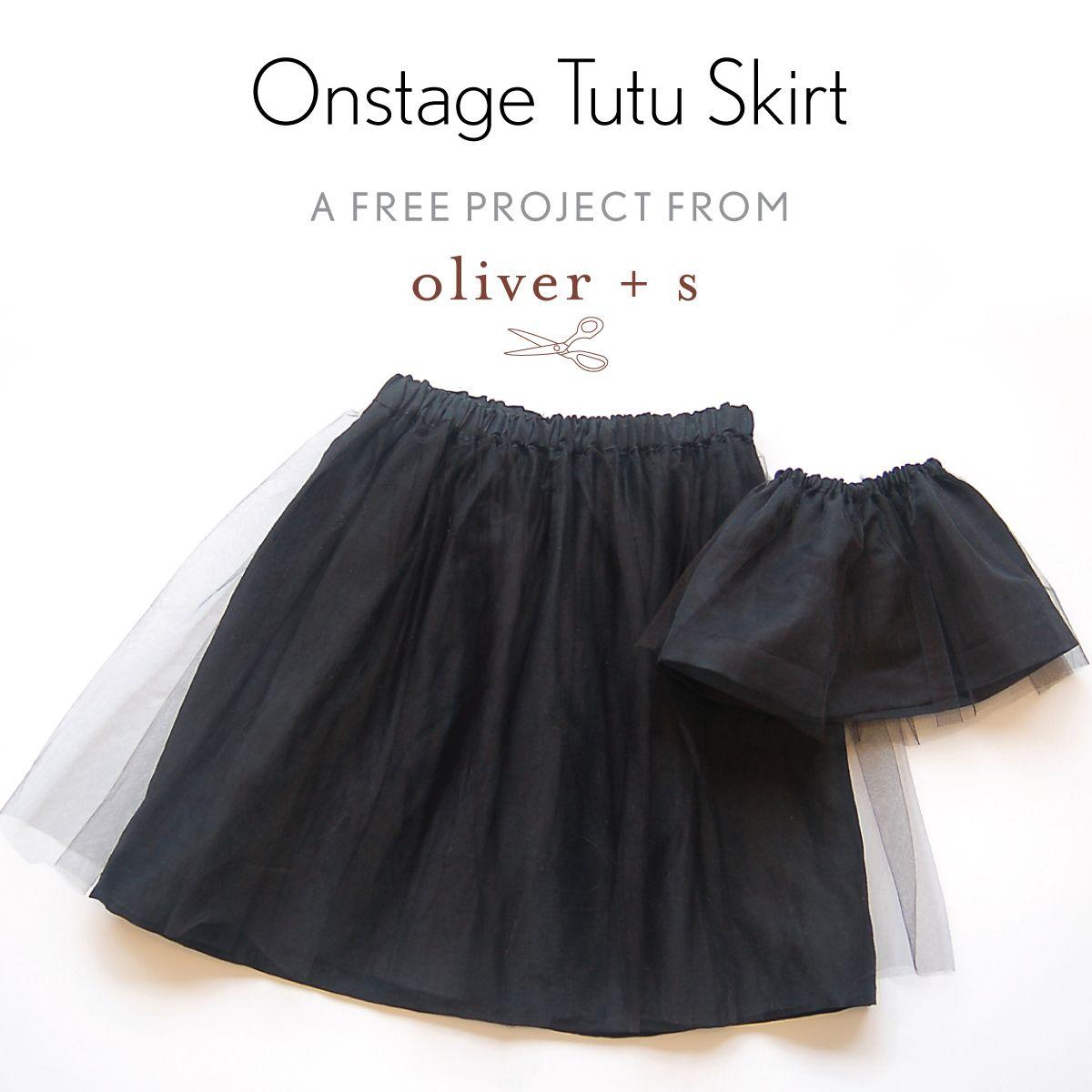 free onstage tutu skirt pattern | Kinderkleidung, Färben und Couture