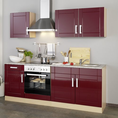Varel Fitted Kitchen Held Mobel Colour Body Beech Colour
