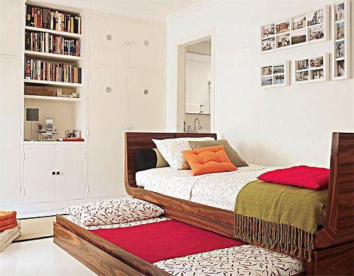 Cuarto pequeno ideas soluciones literas sofacama - Soluciones dormitorios pequenos ...