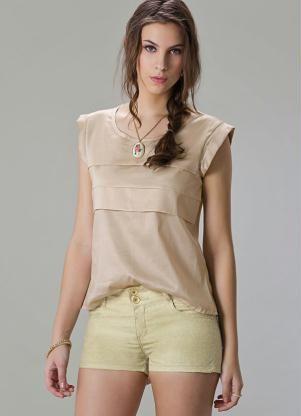 696934456 blusas com mangas diferentes - Pesquisa Google Blusa Bege, Saia E Blusa, Vestido  Tubinho