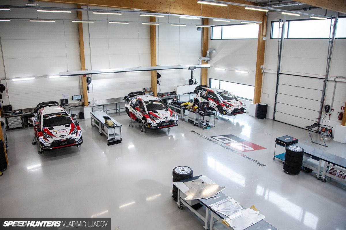 A Rare Look Inside The Toyota Gazoo Racing Wrt Factory In 2020 Toyota Racing Luxury Private Jets
