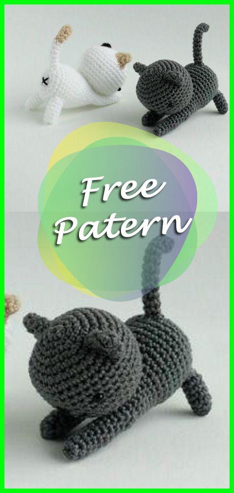Cats Crochet Amigurumi Pattern Free Pinterest Easy Amigurumi