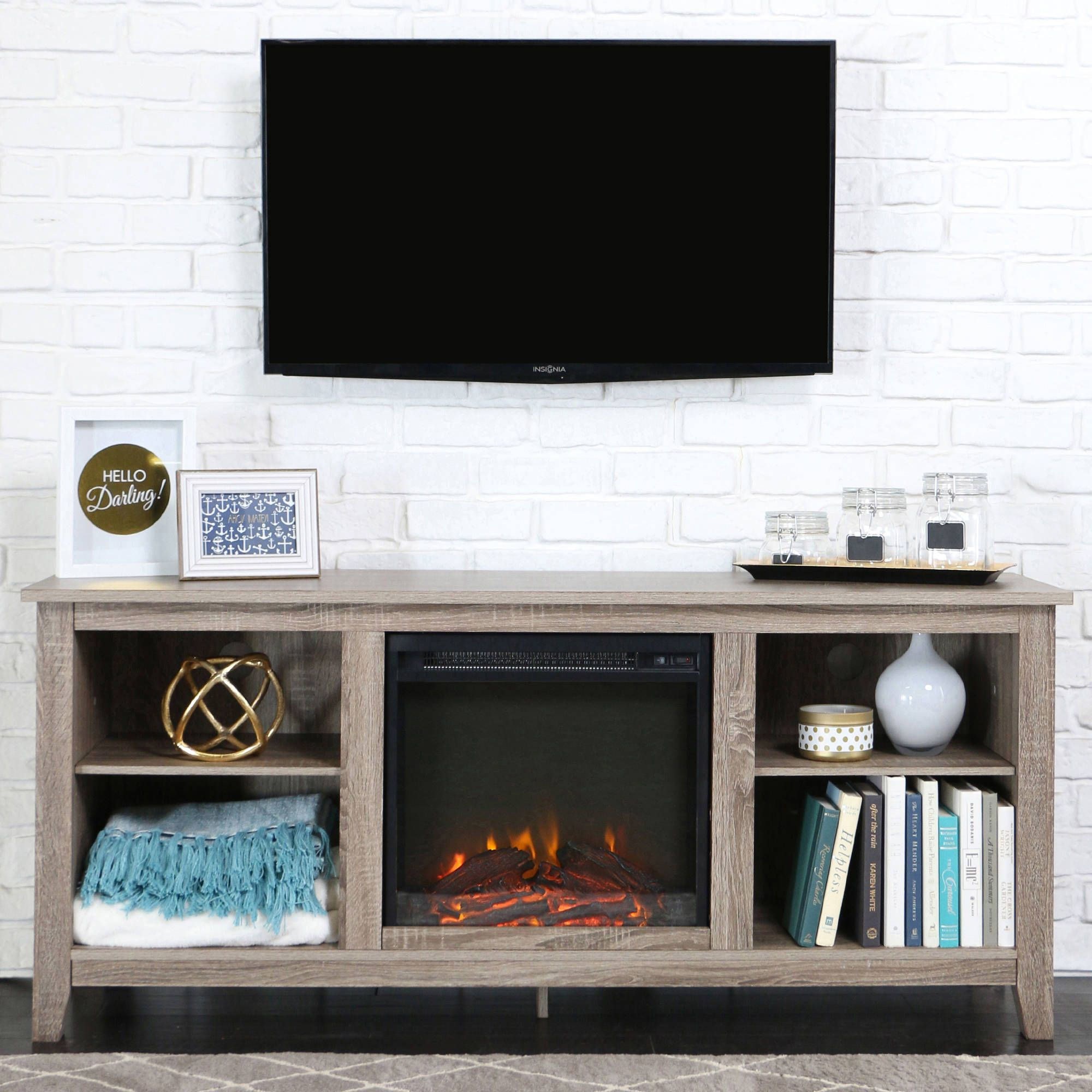 Multiple Colors - Walmart.com | Living Room | Pinterest | Fireplace inserts