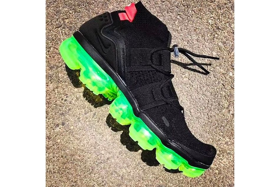 Nike Applies a Bright Neon Sole to the