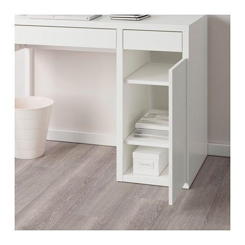 micke computer work station white resources modern bedroom rh pinterest com