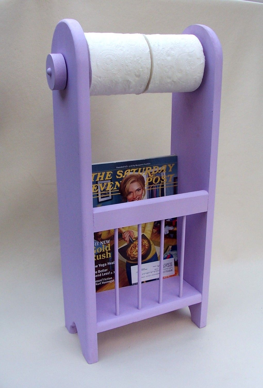 Bathroom Organizer Tissue Paper Holder Magazine Rack Toilet Paper Holder 39 99 Via Etsy Proyectos De Carpinteria Muebles Pequenos Pintura En Madera