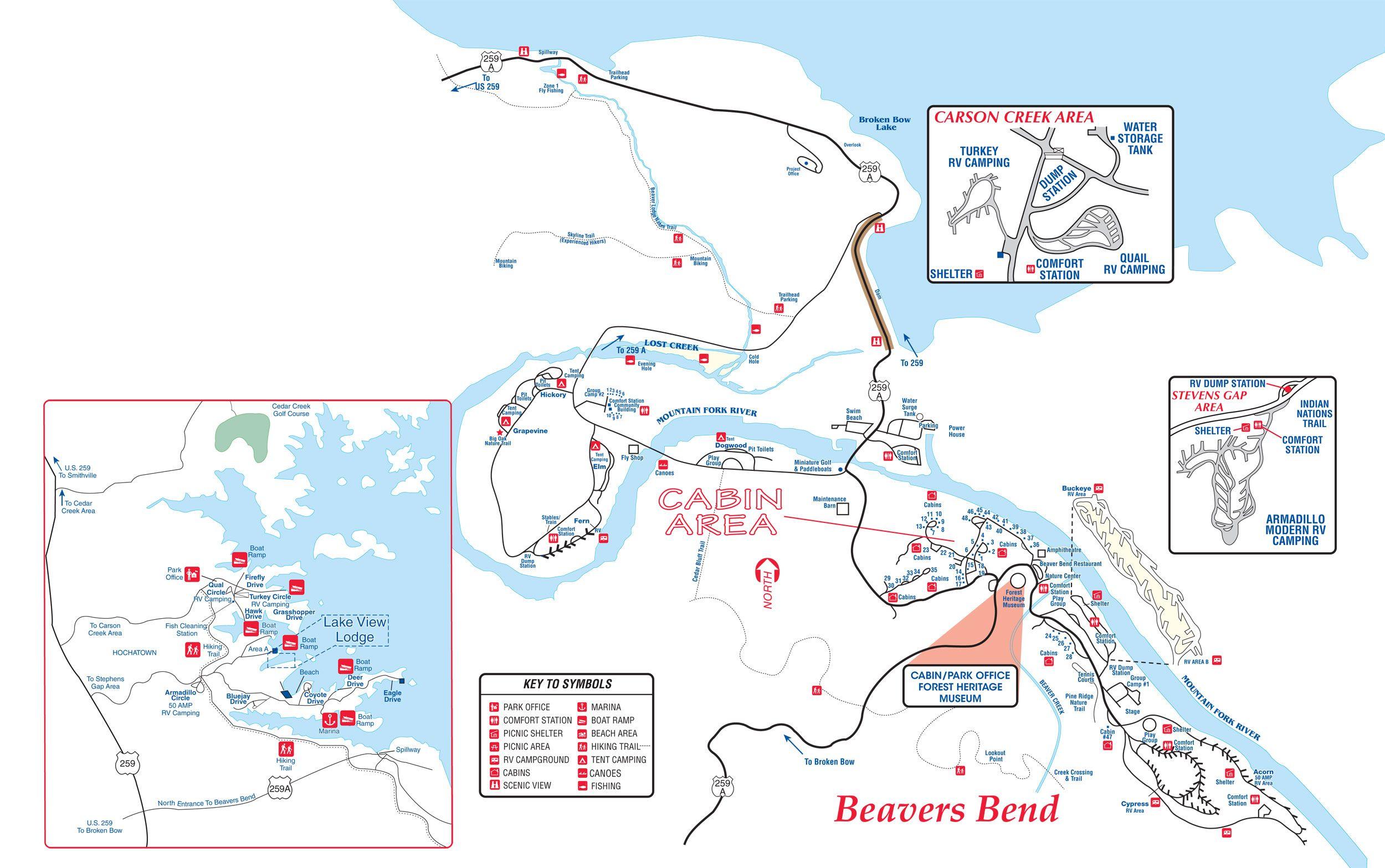 Beavers Bendgood Map Travel Oklahoma Pinterest State - Map of us water parks