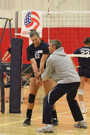 Never Forget Your Coaches Karch Kiraly U S Women S National Volleyball Team Assistant Coach Usa Volleyball Volleyball Indoor Volleyball