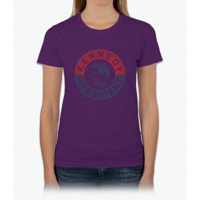 Kennedy President 1960 Womens T-Shirt