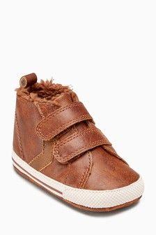 ce1258840233 Pram Double Strap Boots (0-18mths)