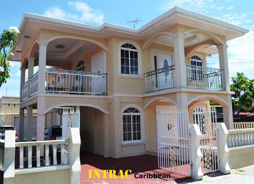 Tastefully Design Guyanese Home Small House Design
