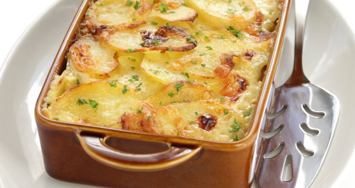 Recipe For The French Potato Dauphinoise At Home