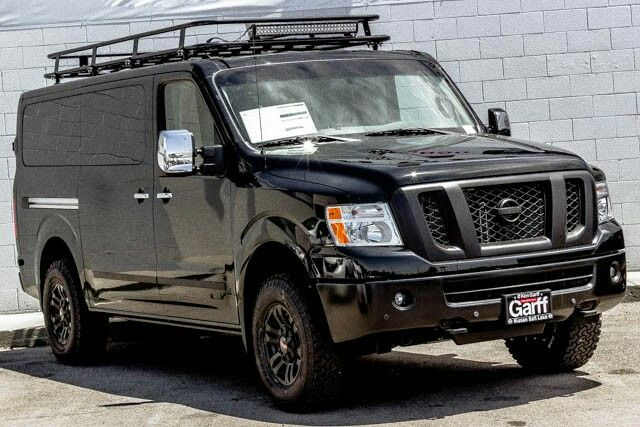 Nissan Nv3500 Camper Conversion >> Nissan NV with Aluminess roof rack | Nissan NV Aluminum Winch Bumpers | Pinterest | Roof rack ...