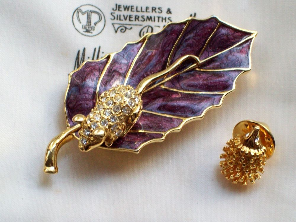 Costume Jewellery Jewellery & Watches Bright Vintage Silver White Metal Fluer De Lis Costume Jewellery Ladies Brooch